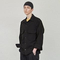 WORKER CROP JACKET_BLACK