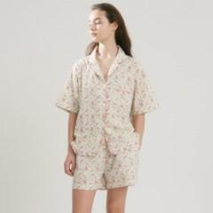 (w) Royal Garden Short Pajama Set