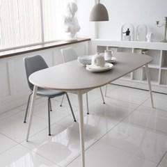 레이어스 타원 테이블 (6인용 1900x800)