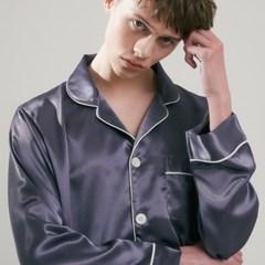 [m] Eco Charmeuse Pajama Set Grey