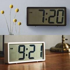 오리엔트 OT1583 벽탁상겸용 큰숫자 스누즈알람 디지털탁상시계