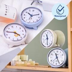 오리엔트 무소음 탁상겸용 흡착식 방수시계(욕실시계) 6종 택 1