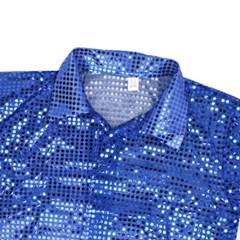 반짝이셔츠-아동 [블루]