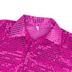 반짝이셔츠-아동 [핑크]