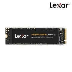 [렉사] 공식판매원 SSD NM700 M.2 2280 NVMe 512GB_(1077495)