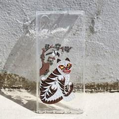 전통 민화 시리즈 까치와 호랑이 젤리 케이스