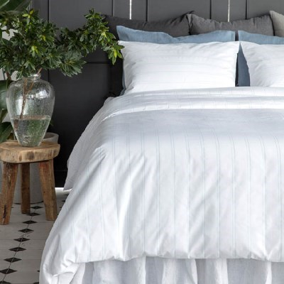PREMIUM JAQUARD BEDDING SET - HEM STITCH
