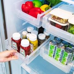냉장고정리트레이 2P 수납선반 저안트레이