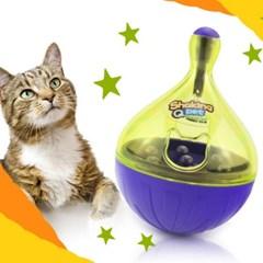 발라당 고양이 강아지 오뚝이 간식 장난감 1단계