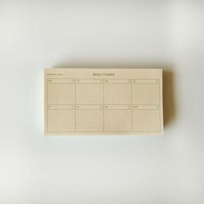 new weekly planner(green) 위클리플래너