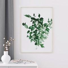 프레쉬리프 식물 액자 나뭇잎 그림