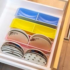 접시꽂이 2P 그릇정리대 접시랙