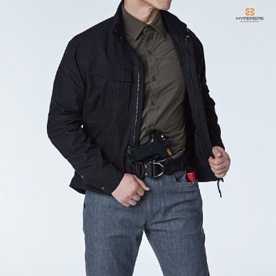 [하이퍼옵스] LEO-Riding Jacket_Black /밀리터리자켓_(1533366)