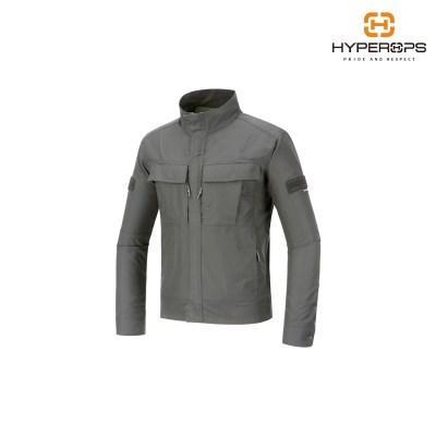 [하이퍼옵스] LEO-Riding Jacket_W/Grey/밀리터리자켓_(1533363)