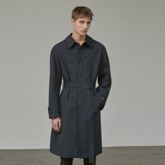 MINIMAL TRENCH COAT_NAVY