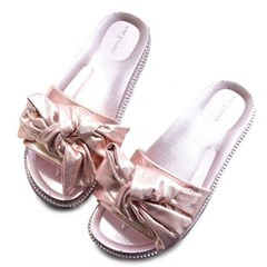 kami et muse Glittering over ribbon daily slippers_KM20s018