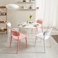 마레 900 원형 테이블 (의자별도)