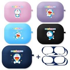 도라에몽 에어팟 프로 케이스 + 철가루 방지 스티커 2매