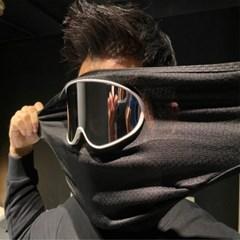 루미 일체형 고글마스크