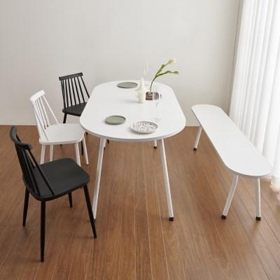 마레 6인 식탁용 1500 벤치의자