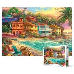 500피스 직소퍼즐 - 해변 마을_(2268585)