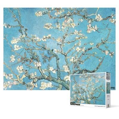 1000피스 직소퍼즐 - 꽃이 핀 아몬드 나무_(2268795)