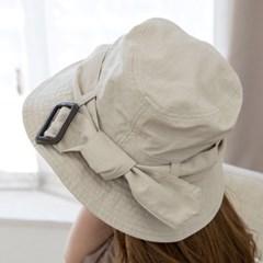 P8892 트렌치 버클 벙거지 모자