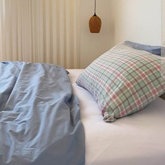 Solid Bedding Cover (Azure)