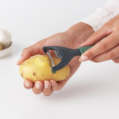 [브라반티아] 감자칼 플러스 레몬칼 - 퍼 그린
