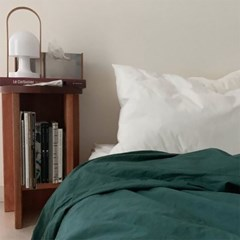 Solid Bedding Cover (Smoke Green)