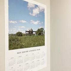 인테리어 포스터 2020 달력 / Calendar 2020 poster