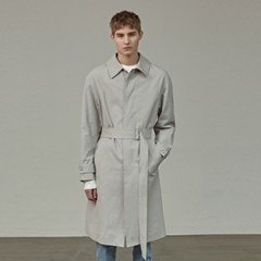 MINIMAL TRENCH COAT_GRAY