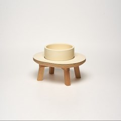 DINING SET CREAM 1P