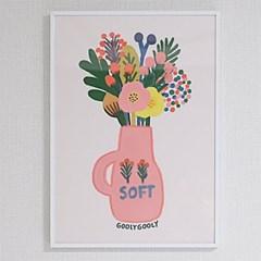 굴리굴리 포스터 / SOFT VASE ( 032 )