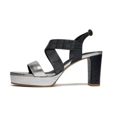 Wild Platform sandal - silver