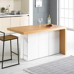 [데코마인] 엔슬리 아일랜드 식탁 1400 A형 홈바테이블