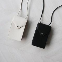 핸드폰 케이스 사각 미니 크로스백 (2color)