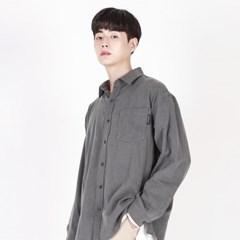 (UNISEX)Pastel Pigment Shirt(BLACK)