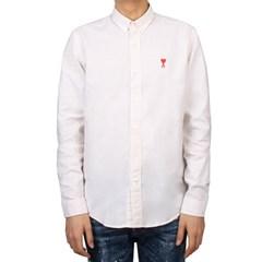 20SS 아미 하트 로고 셔츠 (오프화이트) P20HC013 45 150 OFF WHITE