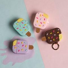 ★철가루방지스티커1세트 증정★엘라고 에어팟1,2 아이스크림 케이스