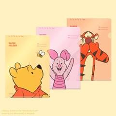 디즈니 페이퍼 폴더 - 위니더푸 (3EA)
