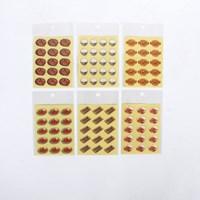 스티커마켓 푸드스티커 (삼겹살,떡볶이,피자,치킨,공깃밥,김밥)