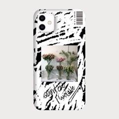 [하드/터프/슬라이드]Painting Flower_W/Black