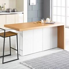 [데코마인] 엔슬리 아일랜드 식탁 1600 C형 홈바테이블