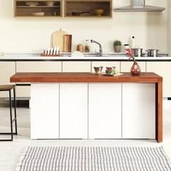 [데코마인] 엔슬리 아일랜드 식탁 1600 B형 홈바테이블
