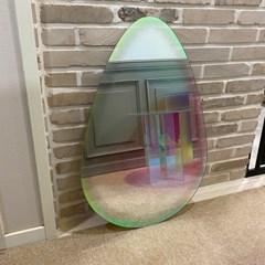 (무료배송)로니아 이형거울 홀로그램