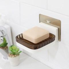 호텔 욕실 인테리어 무타공부착 위생 비누받침대 SD30_(1170549)