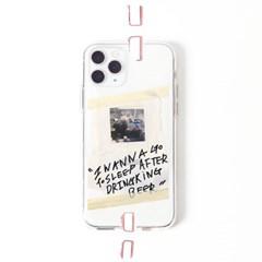 투명케이스_프레임띵 No19 [JM] Phone Case