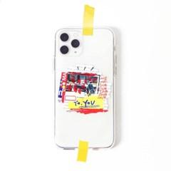 투명케이스_프레임띵 No13 [Love Race] Phone Case