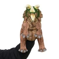 7759-공룡퍼펫(손인형) 트리케라톱스 43cm.L_(1538369)